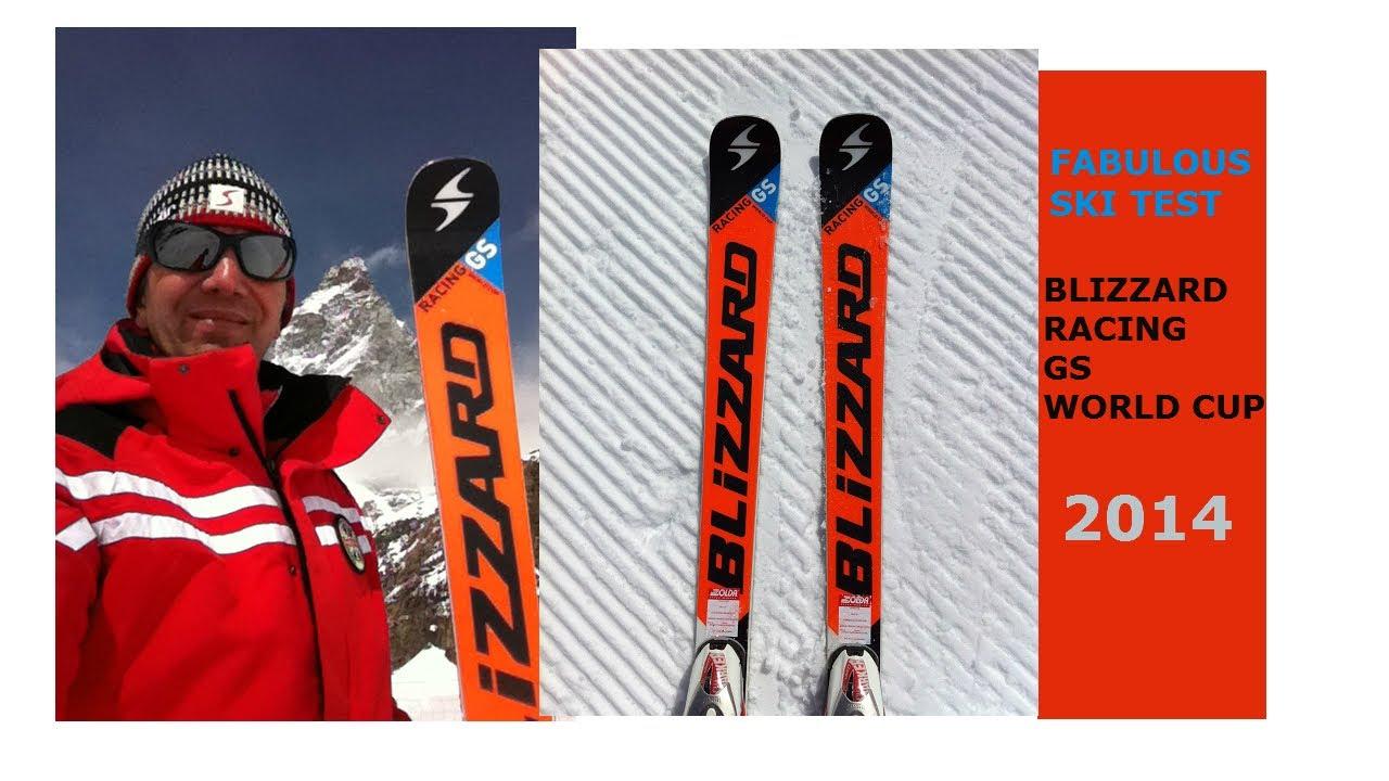 Fabulous Ski Test Blizzard World Cup GS 2014