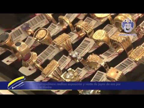 46f87443f90d Exposición y venta de joyas por el Día de la Madre - YouTube