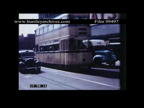 Superb footage of Sheffield in 1960.  Archive film 99497