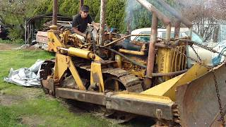 First start in 20 years RD4 CATERPILLAR BULLDOZER WWII