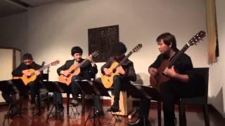 bamboo guitar quartet pachelbel s loose canon arr by lagq