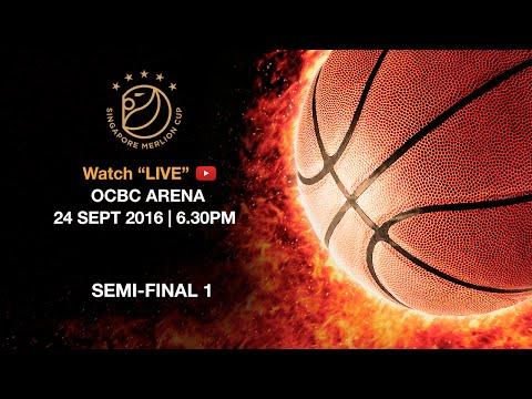 Basketball: Semi-final Shanghai Sharks vs Seoul Samsung Thunders | Singapore Merlion Cup 2016