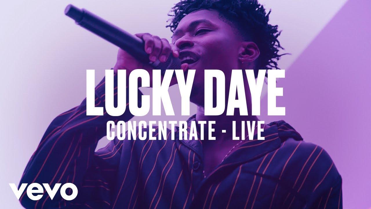 Lucky Daye — «Concentrate» (Live) | Vevo DSCVR