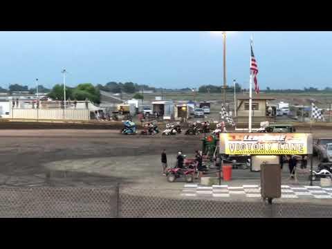 Lemoore Raceway 7/6/19 Jr Sprint Main- Cash