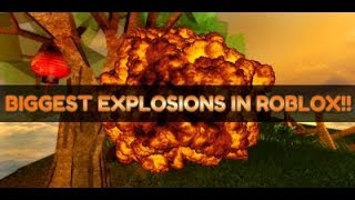 ¡¡Las explosiones más grandes en Roblox!! * Simulador de destrucción De juego!*