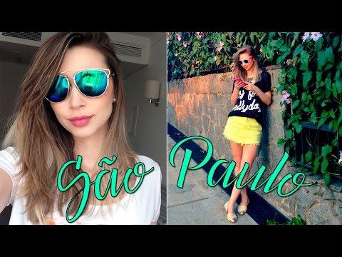 Gravações para Avon, São Paulo e festa Niina Secrets Store - Jana Taffarel