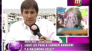 Faroni habló de lo que les pasa a las leonas: carmen Barbieri y Nazarena Vélez