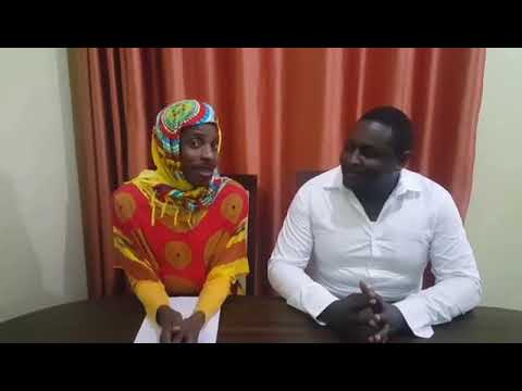Eric Omondi imitates Lulu Hassan and Rashid Abdalla reading news on TV