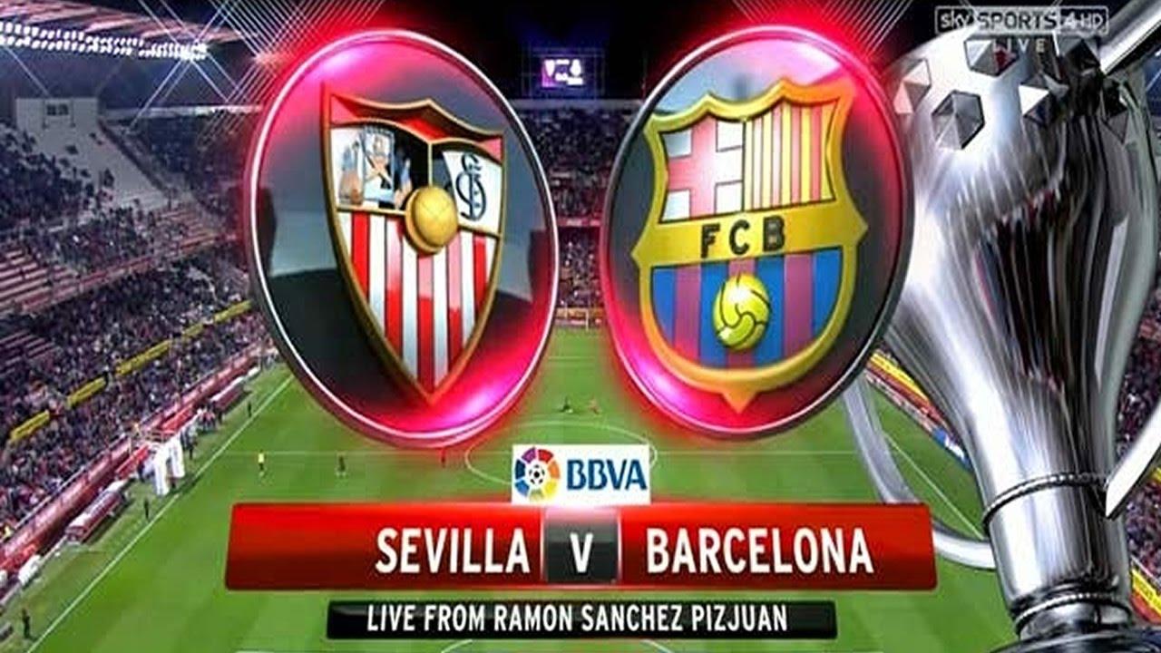 sevilla vs barcelona - photo #46