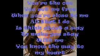 Way to my heart - Lyrics