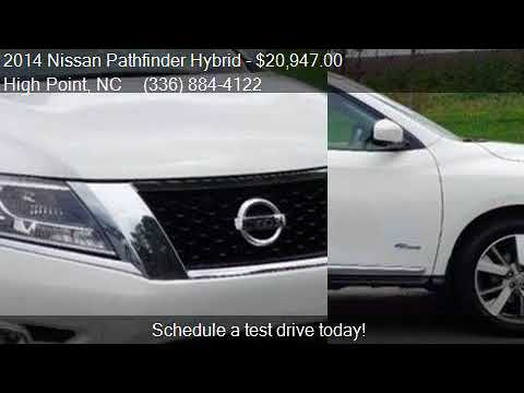 2014 Nissan Pathfinder Hybrid Platinum Hybrid For Sale In Hi Youtube