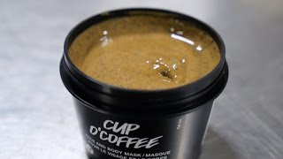 Lush How It's Made: Cup O' Coffee Face And Body Mask