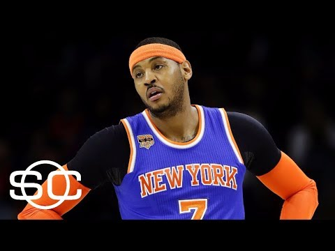 Stephen A. Smith: Carmelo Anthony Wants Out Of Knicks | SportsCenter | ESPN