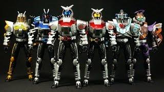 開封!仮面ライダーカブト C.O.R. キャストオフライダー パート1 Opened! Kamen Rider Kabuto cast off Rider part 1 thumbnail