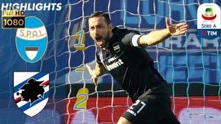 SPAL vs sampdoria:All goals and extended highlights