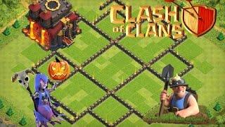 Clash Of Clans - TH 10 Hybrid/Farming Base - 275 Walls