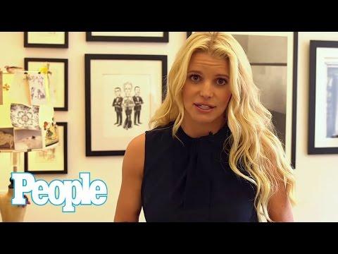 Jessica Simpson Talks Wedding Gown Inspiration with Carolina Herrera | People