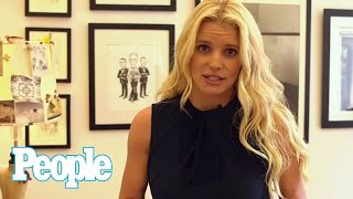 Jessica Simpson Talks Wedding Gown Inspiration with Carolina Herrera | People