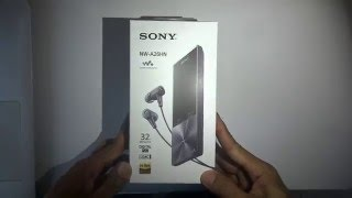 Unboxing Sony Walkman NW-A26HN, Hi-Res Music Player From Sony With Digital Noise Cancelling