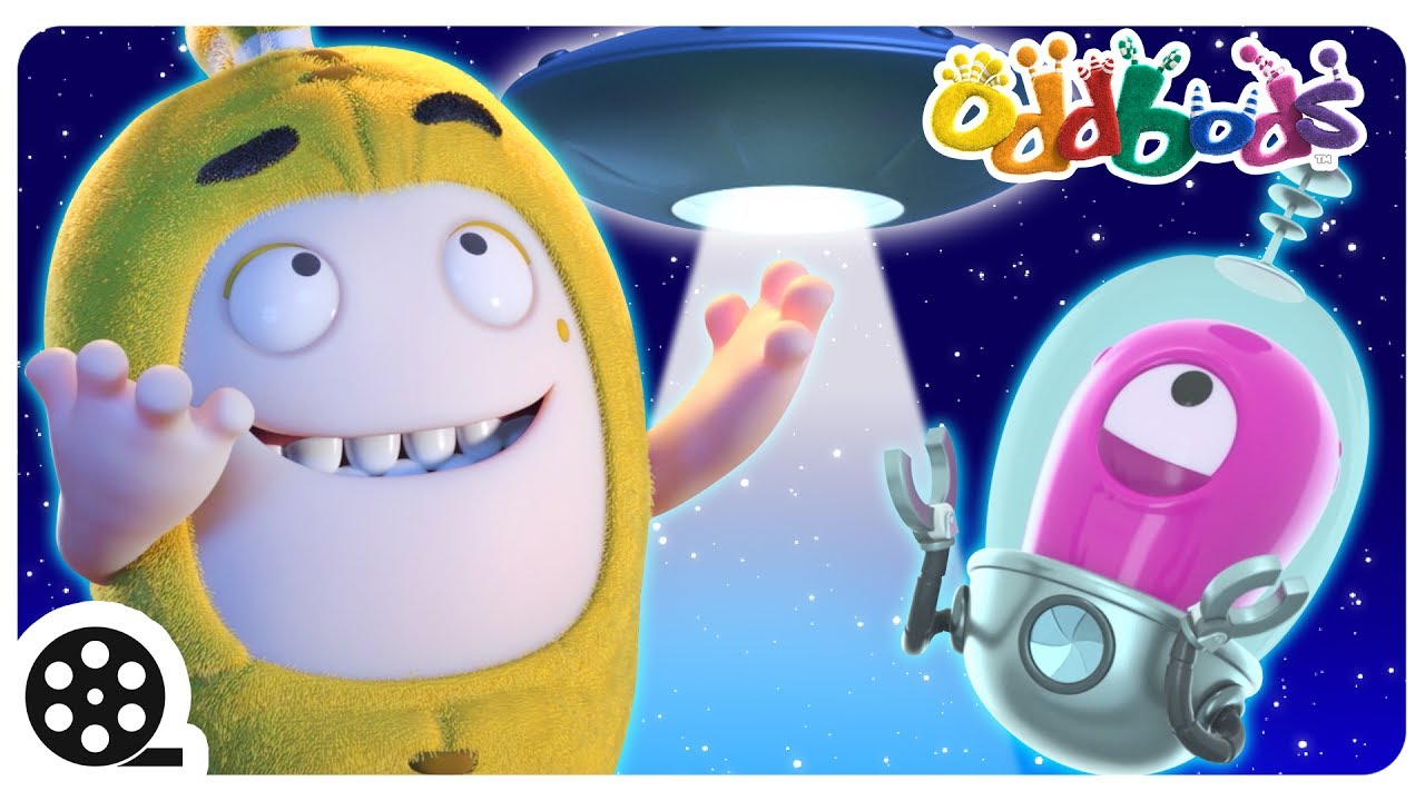 Cartoon | Oddbods - Alien Abduction | Funny Videos For Children