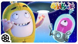 Cartoon | Oddbods - Alien Abduction | Funny Cartoons For Children