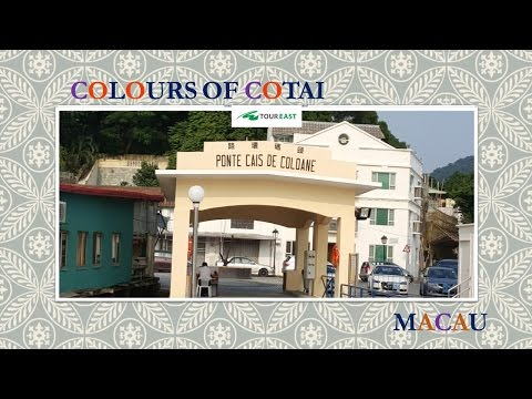 Colors of Cotai Strip & Heritage Site Tour - Video
