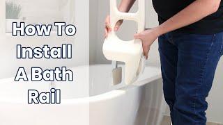 How To Install A Bathtub Rail