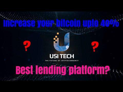 Best Bitcoin Lending Platform  Earn Upto 40% Of Your Investment  