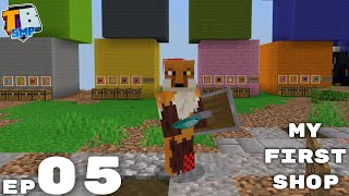 My First Shop - Truly Bedrock Season 2 Minecraft SMP Episode 5