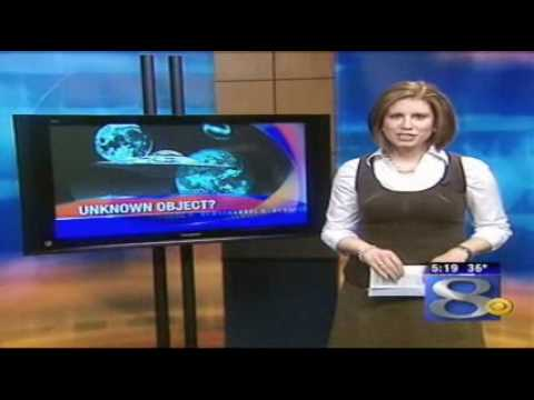 UFO Over Monroe County wisconsin March  7, 2009 WKBT NEWS
