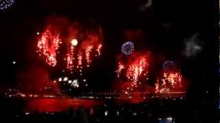 Istanbul Feuerwerk 29 Oktober