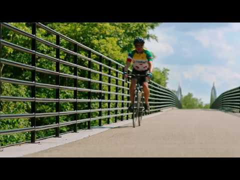 Monon Trail in Carmel and Westfield, Indiana