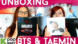 BTS - Dark and Wild & TAEMIN - Ace [UNBOXING] Thumbnail