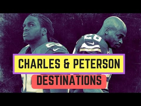 Top 5 Free Agency Destinations for Adrian Peterson and Jamaal Charles | NFL Free Agency 2017