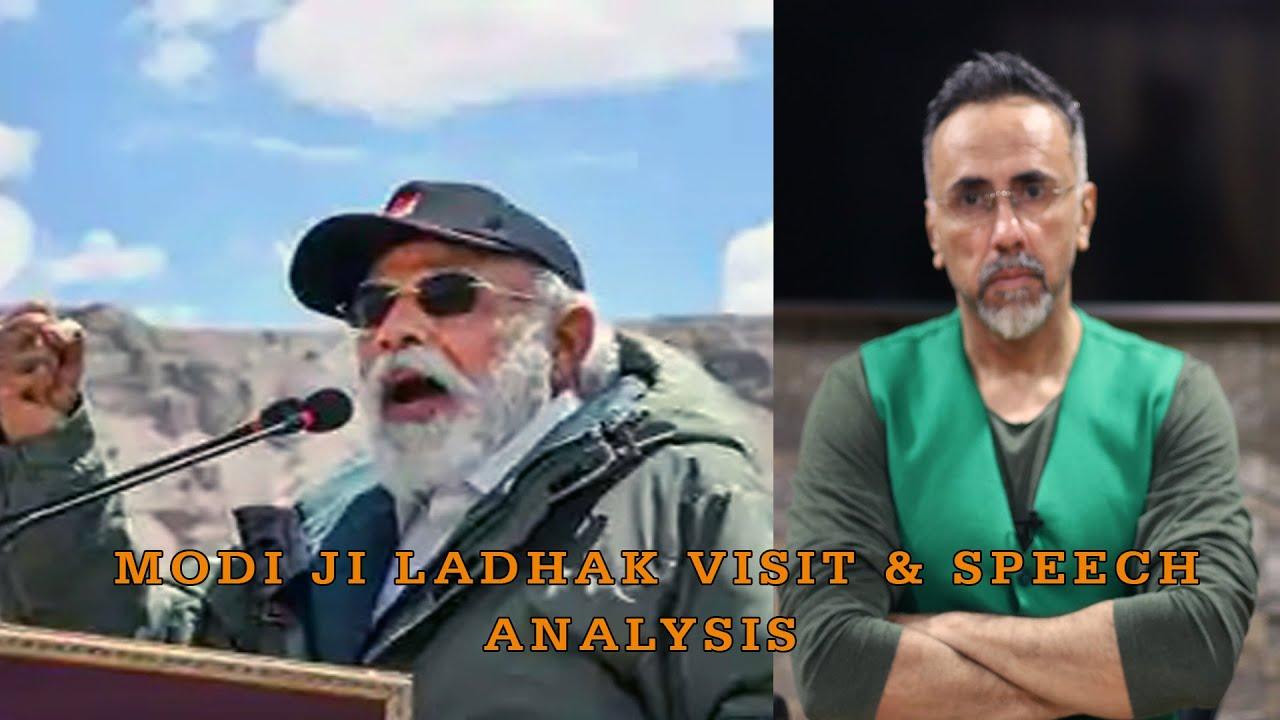 Modi ji Ladhak visit & speech