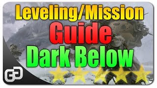 Destiny Mission And Leveling 1-20 Guide The Dark Below