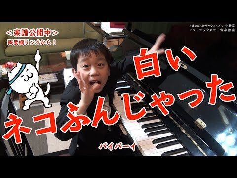 【音楽実験室】白鍵だけでねこふんじゃったを演奏してみたよ!