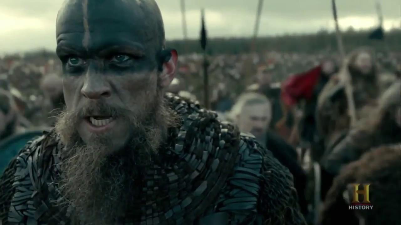 Download Vikings - The Greath Heathen Army Battle #1 [Season 4B Official Scene] (4x18) [HD]