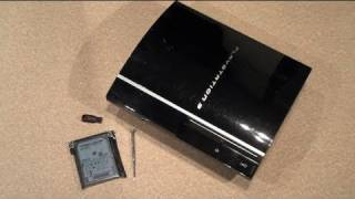Upgrade The PlayStation 3 Hard Drive - Quick PS3 Guide - 640GB HDD