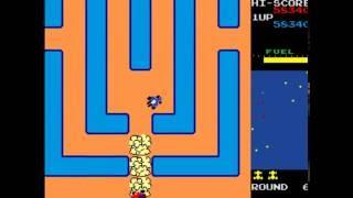 New Rally X - Namco Arcade Game 1981 (1080p)