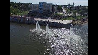 Открытие набережной в Нижнекамске