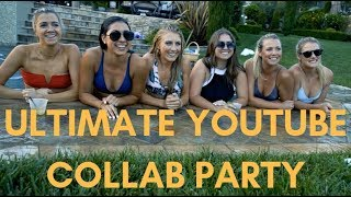 ULTIMATE YOUTUBE COLLAB PARTY | Shawn Johnson