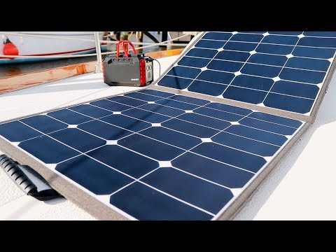 Solar to the Rescue! | Review of Suaoki Solar Panel + Power Station | Sailing Soulianis