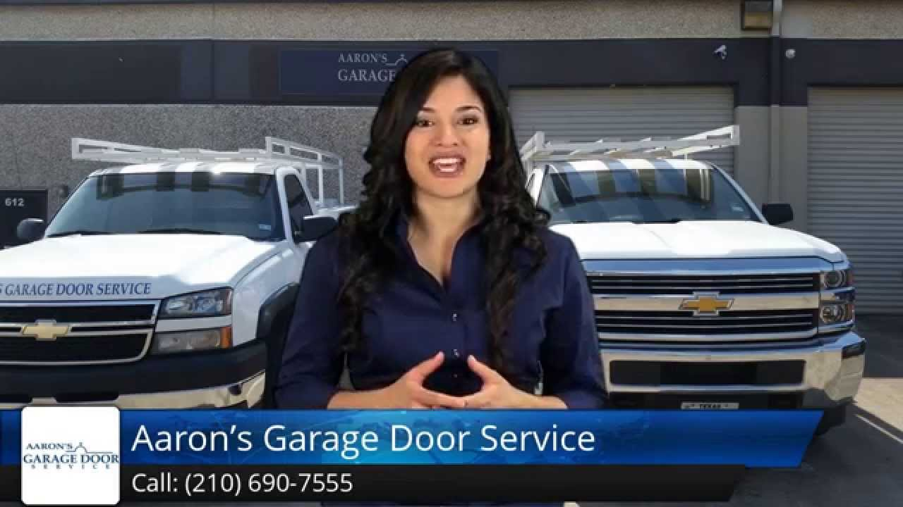 aaron s garage door service san antonio five review 88688