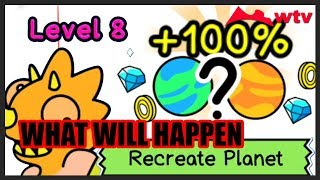 Lvl 8 Recreation Planet ?!?!?!   Evolution Galaxy   Mutant Creature Planets Game   Tapps Games #3