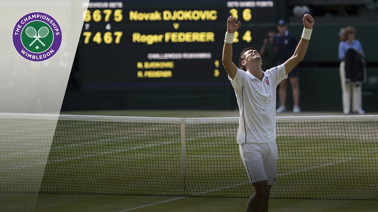 Novak Djokovic Vs Roger Federer Wimbledon Final 2014 Extended Highlights Youtube