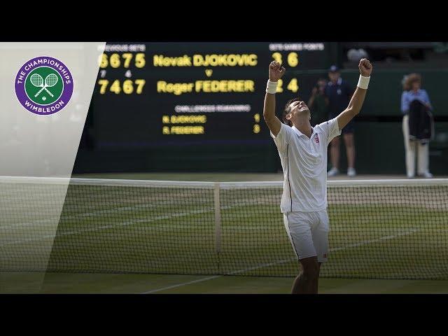 Novak Djokovic vs Roger Federer: Wimbledon Final 2014 (Extended Highlights)
