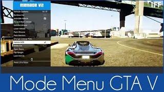 Comment installer un Mod Menu sur GTA 5 online 1.34 PC
