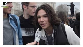 15 mars 2019 : la manifestation se termine devant les Invalides