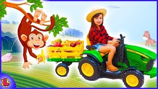 Laurinha play with favorite toys, Learn Colors With Nursery Rhymes Song, funny video for kids